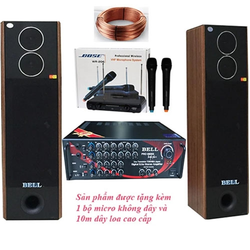 Dàn âm thanh karaoke gia đình BELL PA - 8800S