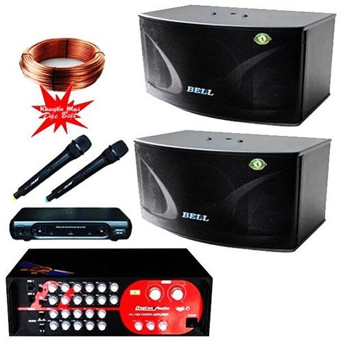 Dàn âm thanh karaoke BELL PA-1400