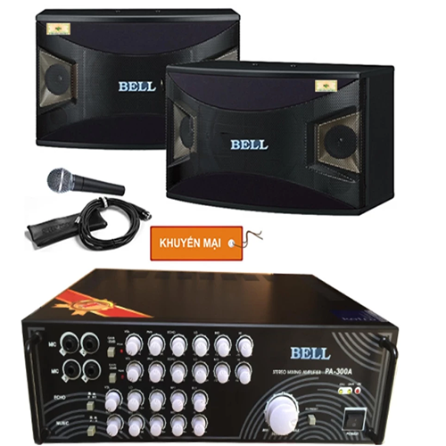 Dàn âm thanh karaoke BELL 910