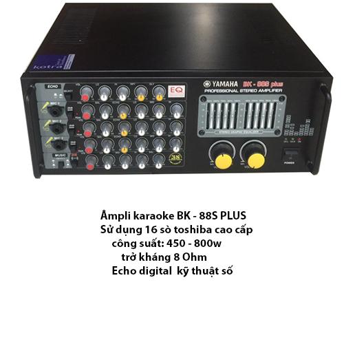 Âmpli 16 sò lớn cao cấp karaoke BK - 888S Plus