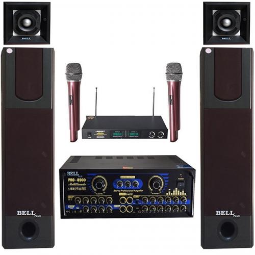 Bộ dàn karaoke và nghe nhạc bell PA - 338