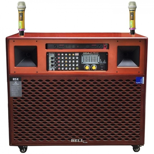 Tủ Loa Kéo Điện 4 Tấc Bell Plus