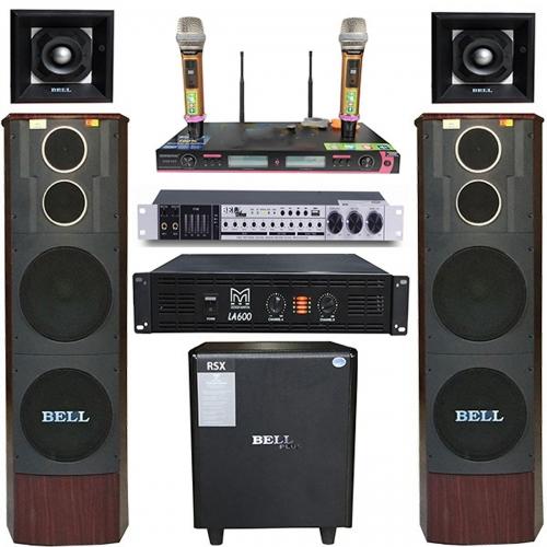 Bộ dàn karaoke và nghe nhạc PA - 1800 BellPlus vip