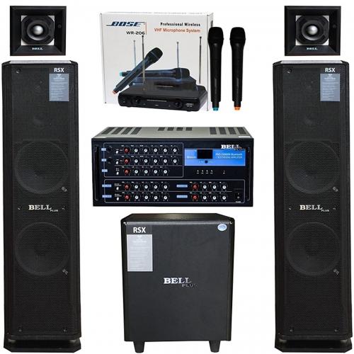 Dàn karaoke và nghe nhạc RSX - 7100 CAO CẤP (Hàng chính hãng)