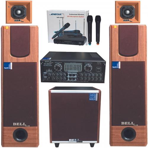 Bộ dàn karaoke PA - 3200 Bell Plus