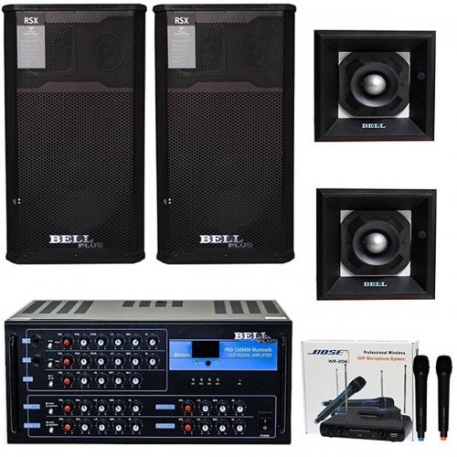 Bộ dàn âm thanh 4 tấc karaoke tích hợp Bluetooth KMS 7200 (HÀNG CHÍNH HÃNG)