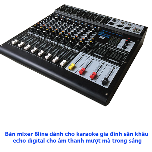 Mixer 8line Digital kỹ thuật số cao cấp - 8 line